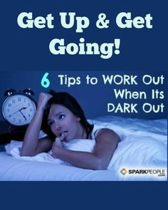 Have trouble getting motivated to move when it's dark out? Use these tips to make rolling out of bed a little easier.| via @SparkPeople #fitness #workout #exercise