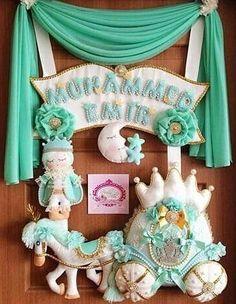 Felt Diy, Felt Crafts, Diy And Crafts, Crafts For Kids, Felt Name Banner, Name Banners, Baby Room Decor, Nursery Decor, Felt Wreath