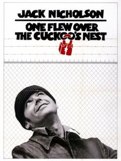 One Flew Over the Cuckoos Nest -- Randle Patrick McMurphy is a free-spirited, small-time convict who fakes being crazy so he can get transferred from the state penitentiary to a more comfortable state mental hospital.