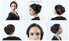 Wedding hairstyle created by me