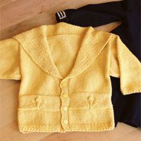 Little Sailor Cardigan - featured in Love of Knitting magazine's Best Summer Knits Issue, on sale May 13th. This is a fabulous compilation of some of our favorite summer patterns from our past issues.