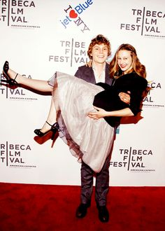 Evan Peters and Taissa Farmiga, both in season one. They're not a couple but I wish they were... :)