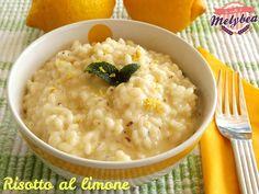 l risotto al limone è un cremoso primo piatto dal gusto leggermente aspro davvero stuzzicante, al profumo di menta. Semplicemente irresistibile!