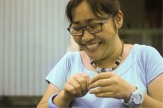 Learn how to make jewelry with host Thien in Ho Chi Minh#Eatwithlocals #food #localfood #homemade #homecooked #Asia #Vietnam #homerestaurant #homedinner #experience #activity #jewelry #skill #HoChiMinh