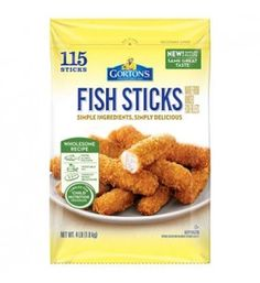 Gorton's Fish Sticks (4 lbs., 115 sticks)