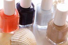 Love the Essie resort collection 2014  #essie #nails #polish