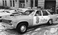 #ChevyNova #PoliceCar in 1978.