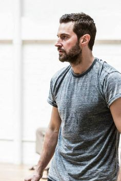 Richard Armitage in The Crucible rehearsal pictures