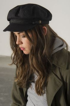 5714ae3f891 Brixton fiddler fisherman hat from urban outfitters in black