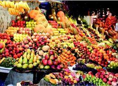Fruit store in Tehran