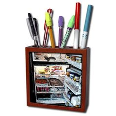Pencil Holder, Pen Holders, Buy Tile, Contents, Refrigerator, Ph, Texture, Amazon, Stuff To Buy