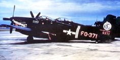 An F-82 Twin Mustang of 67th FS at Itazuke AB, Japan.