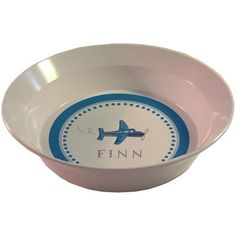 Kids Tabletop Bowl Design: Airplanes  - Click image twice for more info - See a larger selection of baby solid feeding at http://zbabybaby.com/category/baby-categories/baby-feeding/baby-solid-feeding/  - gift ideas, baby , baby shower gift ideas, toddler   « zBabyBaby.com