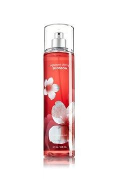 Bath & Body Works Japanese Cherry Blossom Fine Fragrance Mist 8 oz (New Look)