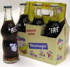 Donald Duck soda pop