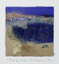 May 6 2016 Original Abstract Oil Painting by hiroshimatsumoto