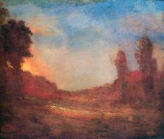 Dwight William Tryon - Autumn Sunset #2