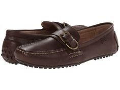 Polo Ralph Lauren – Whiteley (Dark Brown Burnished Leather) Men's Shoes Men's Slippers, Men S Shoes, Leather Men, Dark Brown, Polo Ralph Lauren, Loafers, Fashion, Travel Shoes, Moda