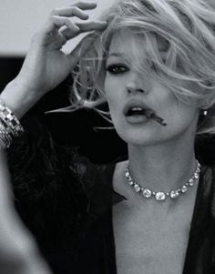 kate moss by mario testino for harper's bazaar magazine