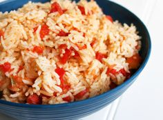Basic Spanish Rice recipe in the Rice Cooker (frugal, easy)