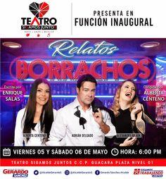 """Alcalde Gerardo Sánchez inaugura """"Teatro Sigamos Juntos"""" este viernes en Guacara"""