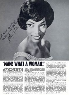 Ketty Lester — 1962 interview in the UK's Pop Weekly