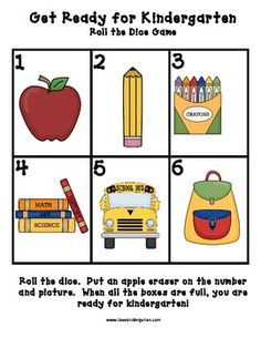 This unit I use with the book Miss Bindergarten Gets Ready for Kindergarten by Joseph Slate during my first week of kindergarten.  It includes:1....