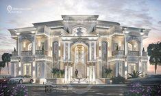 Classic House Exterior, Classic House Design, Dream Home Design, Classic Style, Neoclassical Design, Neoclassical Architecture, Luxury Homes Dream Houses, Luxury Homes Interior, Mansion Designs