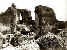 Suceava. Cetatea de Scaun a Sucevei. Antebelic.