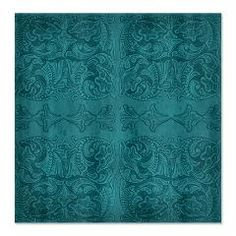 Antiqued Turqoise Tooled Leather Graphic Shower Curtain A graphic design of antiqued, grunged turquoise tooled leather and visual textures. Bright, country, western style original graphics based on antique leather work. Cowboy or Cowgirl style
