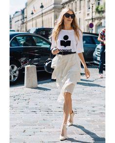 tshirt + skirt