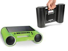 Bluetooth Solar Powered Portable Sound System.