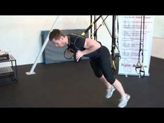 ▶ TRX front squats - YouTube