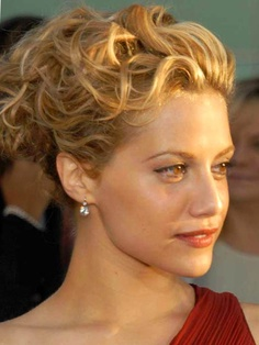 Brittany Murphy - Wavy updos hairstyle