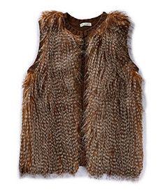 Love on a Hanger Faux-Fur Vest