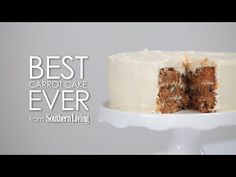Best Carrot Cake Ever | Carrot cake is a must-have on your #Easter table. #holiday