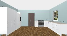 Need Inspiration for Your Large Space Kitchen Design? Use the Free 3D Kitchen Planner and start Designing Today!