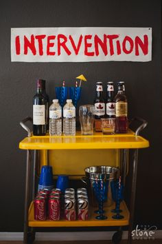 HIMYM party by One Stone Events #himym #howimetyourmother