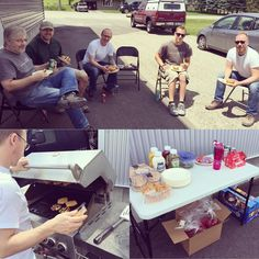 Loved serving and treating our guys to the first BBQ of the season ! Bbq, Treats, Seasons, Guys, Table, Summer, Home Decor, Barbecue, Sweet Like Candy