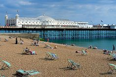 brighton, england  studied abroad here - LOVE it. MISS it.  (image from mustvisitcities.blogspot)