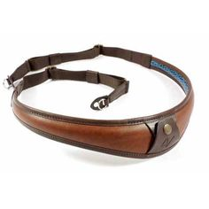 4V Design ALA TOP Handmade Leather Camera Strap w/ Metal Ring Fit, Brown/Brown (2ATLRVV2324) *** Details can be found by clicking on the image.