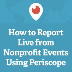 Use your phone and Periscope App to boost your adoptions. Use at adoptions, at the shelter, make quick and easy videos for fundraising (especially vet funds for individual animals you can feature).