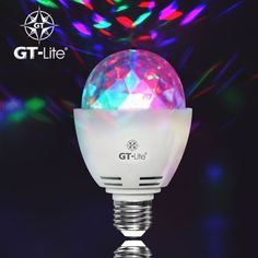 We are excited to announce the arrival of GT-Lite 3W Colorf...! Head over to our store to purchase! http://www.dazzlestudios.net/products/gt-lite-3w-colorful-auto-rotating-rgb-led-party-bulb?utm_campaign=social_autopilot&utm_source=pin&utm_medium=pin