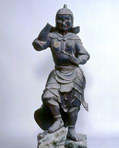 Takiyamatera(Takiyamatera)岡崎市,天台吉祥陀羅尼經山藥樹王研究所|十二藥叉大將雕像12圖像(三神)