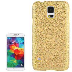 Glitter Glitzer Backcover Case fürs Samsung Galaxy S5 i9600 Gold