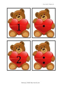 BLOG EDUKACYJNY DLA DZIECI: LICZBY DO 10 - POMOCE Zoo Crafts, Preschool Learning Activities, Care Bears, Ms Gs, Kids And Parenting, Scooby Doo, Numbers, Creations, Kindergarten