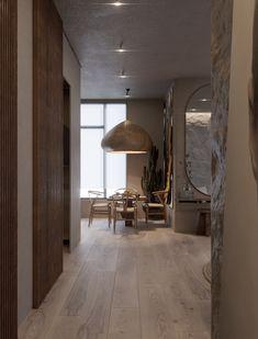 Bila Wabi Sabi Apartment by Sergey Makhno Architects Wabi Sabi, Home Decor Bedroom, Diy Home Decor, Bedroom Chair, Bedroom Furniture, Casa Wabi, Decorating Your Home, Interior Decorating, Decorating Websites