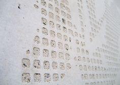 Helsingin Siluetti and Helsingin Akvarelli, Helsinki, Finland 2008 (housing). Architecture by B&M Architects, prefabrication by Pikon Betoni Oy. Concrete Materials, Dynamic Design, Repeating Patterns, Textures Patterns, Signage, Helsinki, Architecture, Finland, Grass