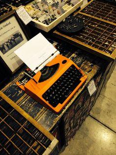 "Typewriters for sale - Sydney Finders Keepers Design Market - shop on line at ""Charlie Foxtrot"""