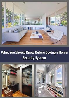 Security systems should be built around your needs and home design. Image Source: Luke Gibson Photography We hope you like the products we recommend. Best Home Security System, Wireless Security System, Security Companies, Solar Power System, Large Homes, Home Buying, Decorating Ideas, United States, House Design